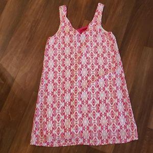 myan Dresses - Geometric dress. Bow in BACK!
